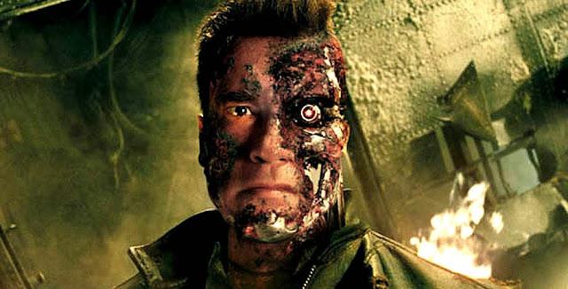 Arnold în rolul Terminator