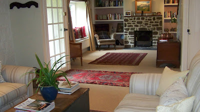 The sitting room of Pump Cottage vacation accommodation in Shaftesbury