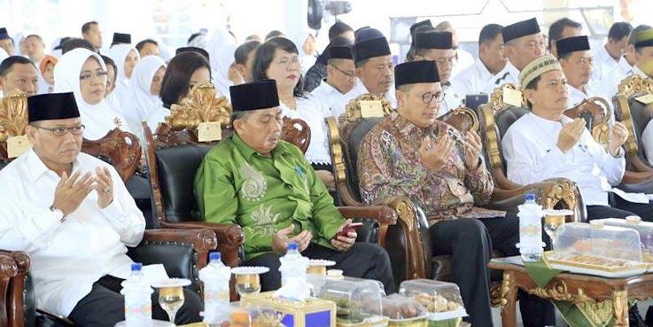 Menag Lukman hadiri Pembinaan ASN Kanwil Kemenag Provinsi Gorontalo di Asrama Haji Antara Gorontalo.
