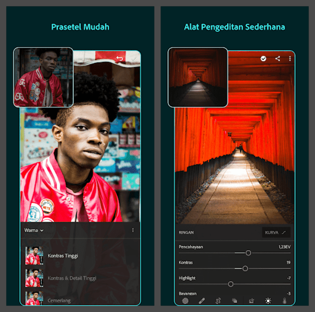 Download Adobe Lightroom CC Fullpack Mod APK Terbaru
