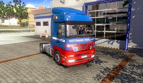 Mercedes Benz Trucks Pack