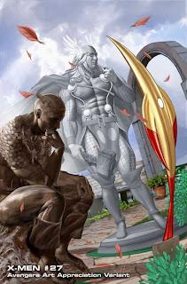 Especial: Vingadores ganham capas que homenageiam obras de arte.| HQ 17