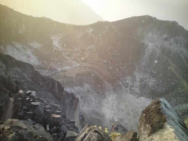Puncak Gunung Sibayak