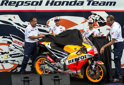 Gallery Launching Tim Repsol Honda di Sentul, Indonesia 2016