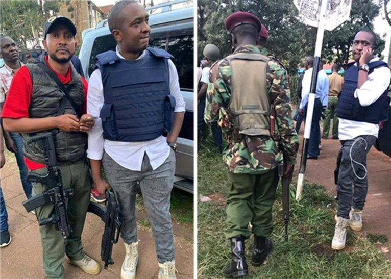 Slay Queen Steve Mbogo Arrested In Connection To His Riverside Appearance