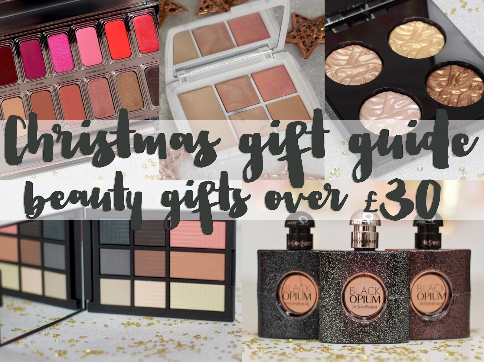 christmas gift guide time is finally here and i thought id start off by going big or going home so first up is beauty gifts over 30