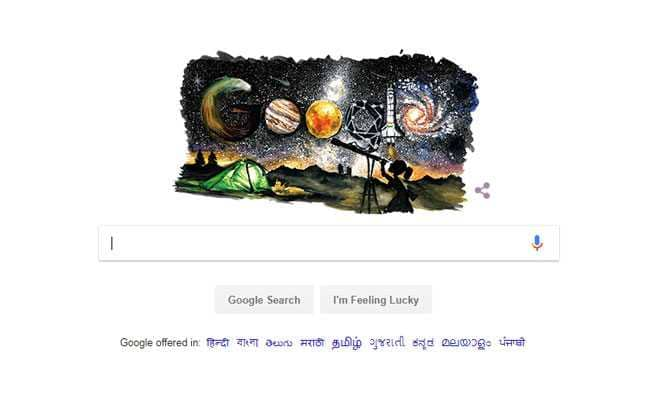 Google Doodle: Google Celebrates Children's Day With Doodle On Space Exploration