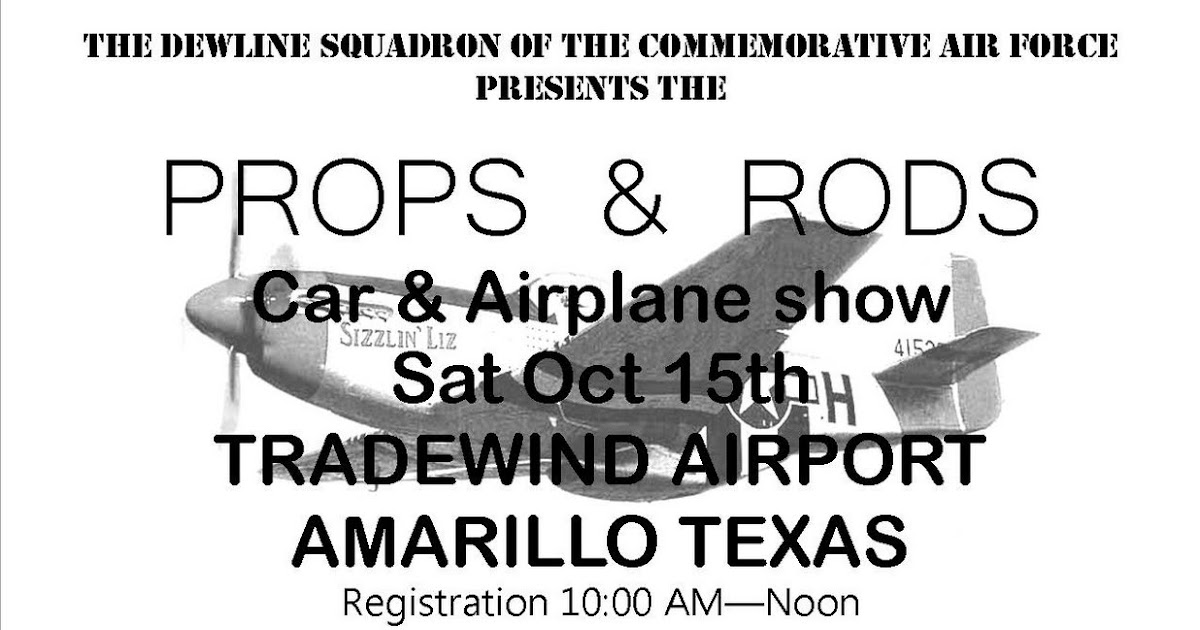 Best of Texas Blogs: Amarillo: Air/car show this weekend!