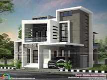 Beautiful Box Model Contemporary Residence With 4 Bedroom