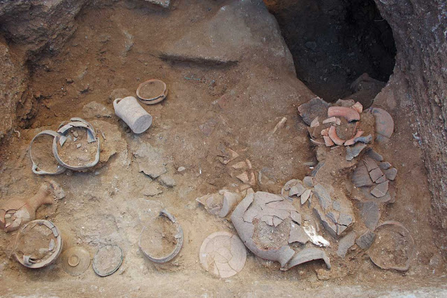 More tombs uncovered in Etruscan site of Vulci