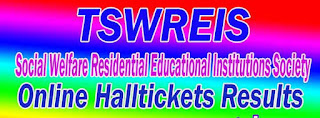 SWAEROCET-2017 TSWREIS Telangana TS Social Welfare Residential 5th 9th Class Admission Test Online Apply Halltickets Results Download