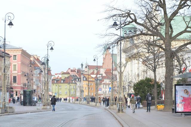 Imagen de Varsovia en invierno