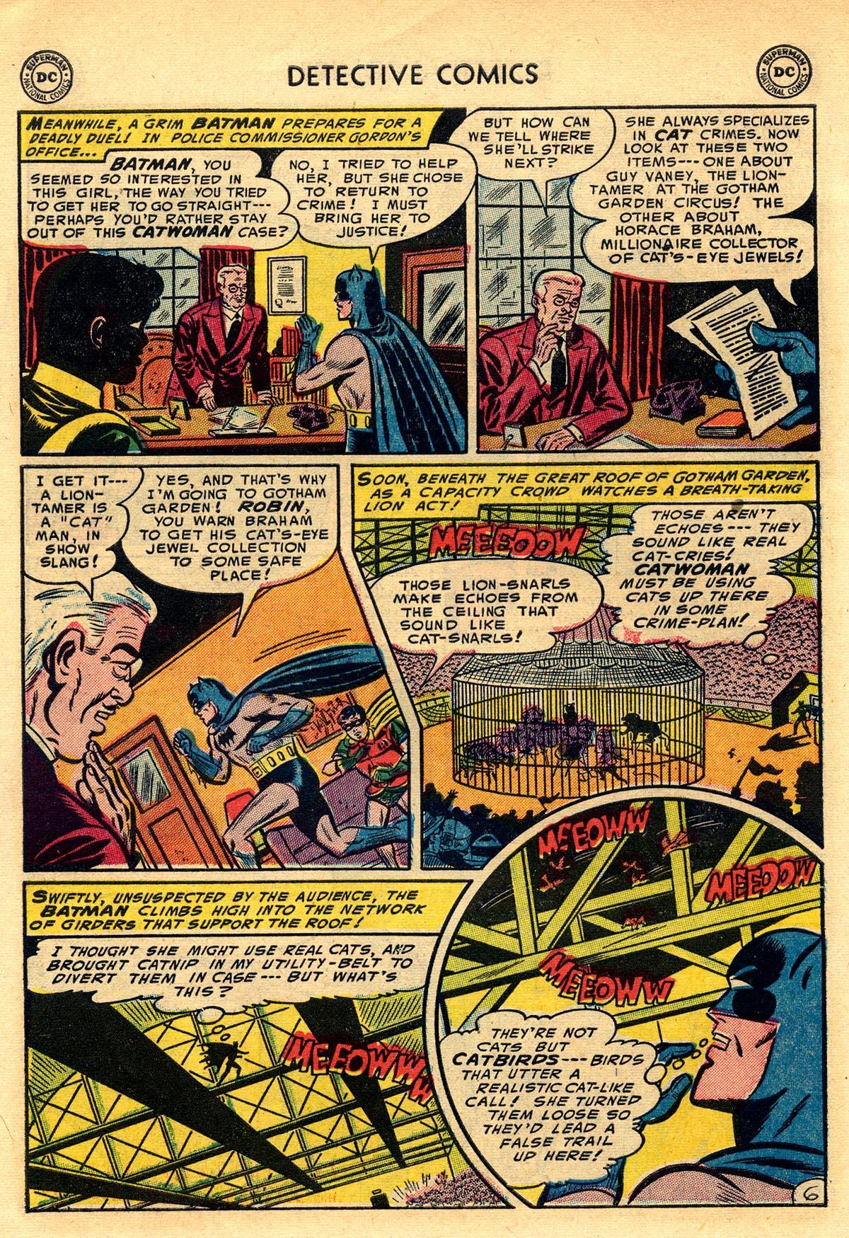 Read online Detective Comics (1937) comic -  Issue #203 - 8