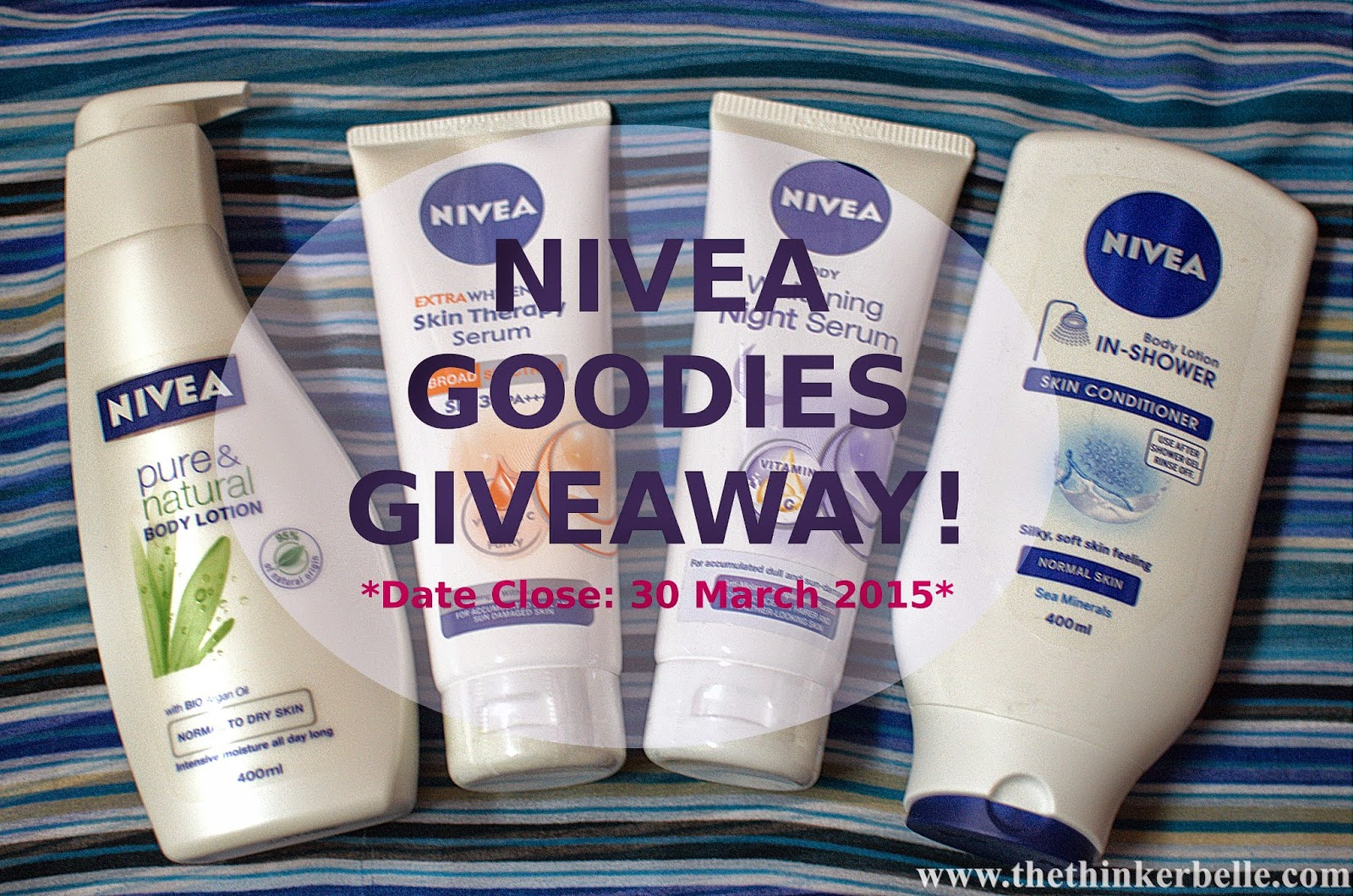 nivea extra whitening skin theraphy serum