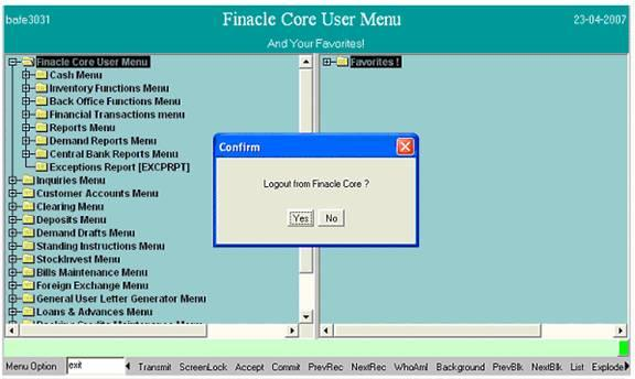 Finacle Step-By-Step: June 2013