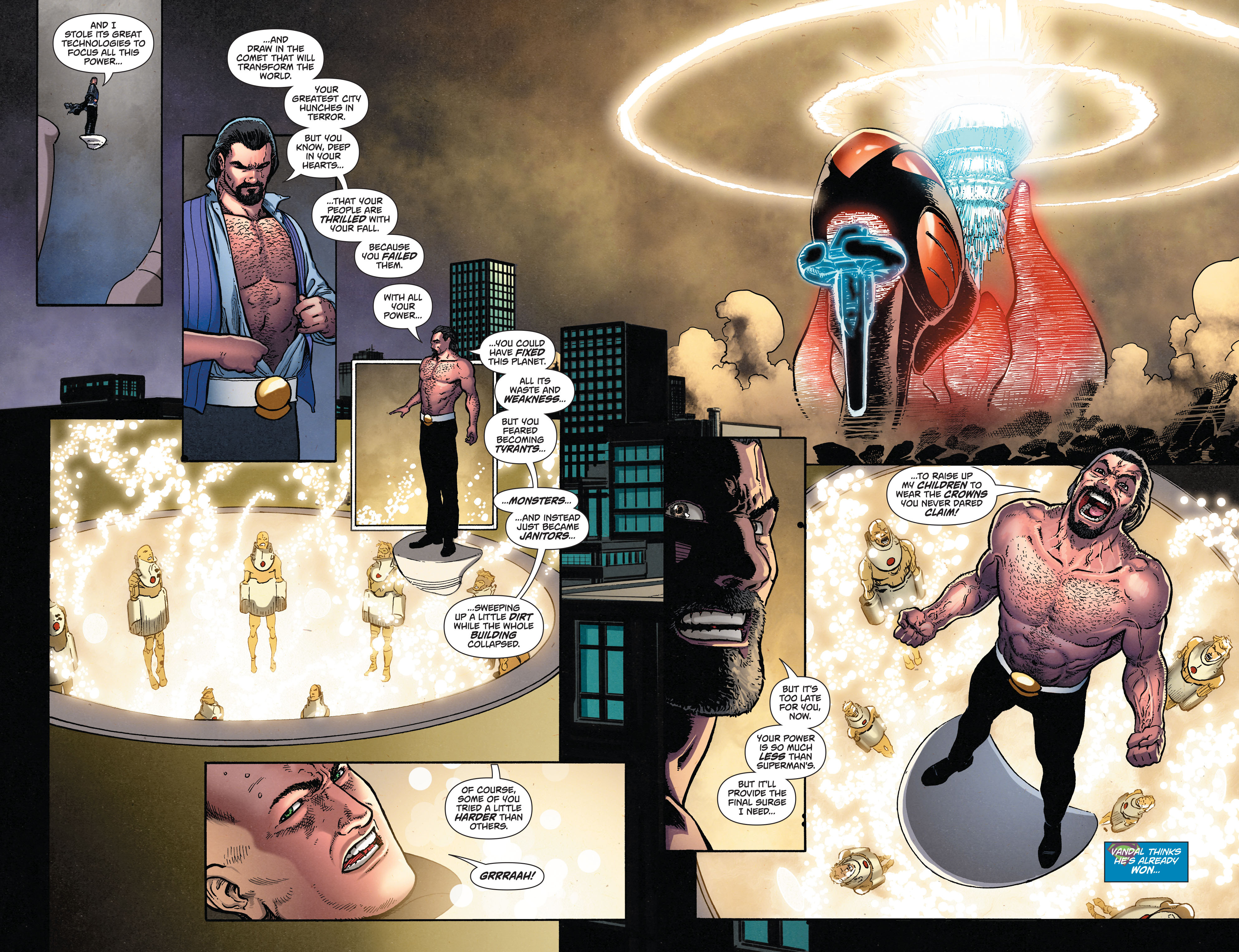 Read online Action Comics (2011) comic -  Issue #50 - 8