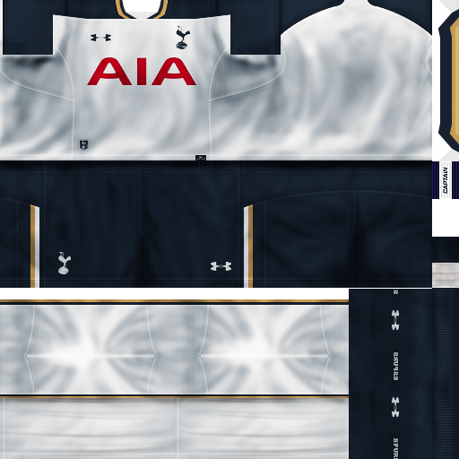 Uniforme Tottenham Hotspur By Villapilla Patch Imaster border=