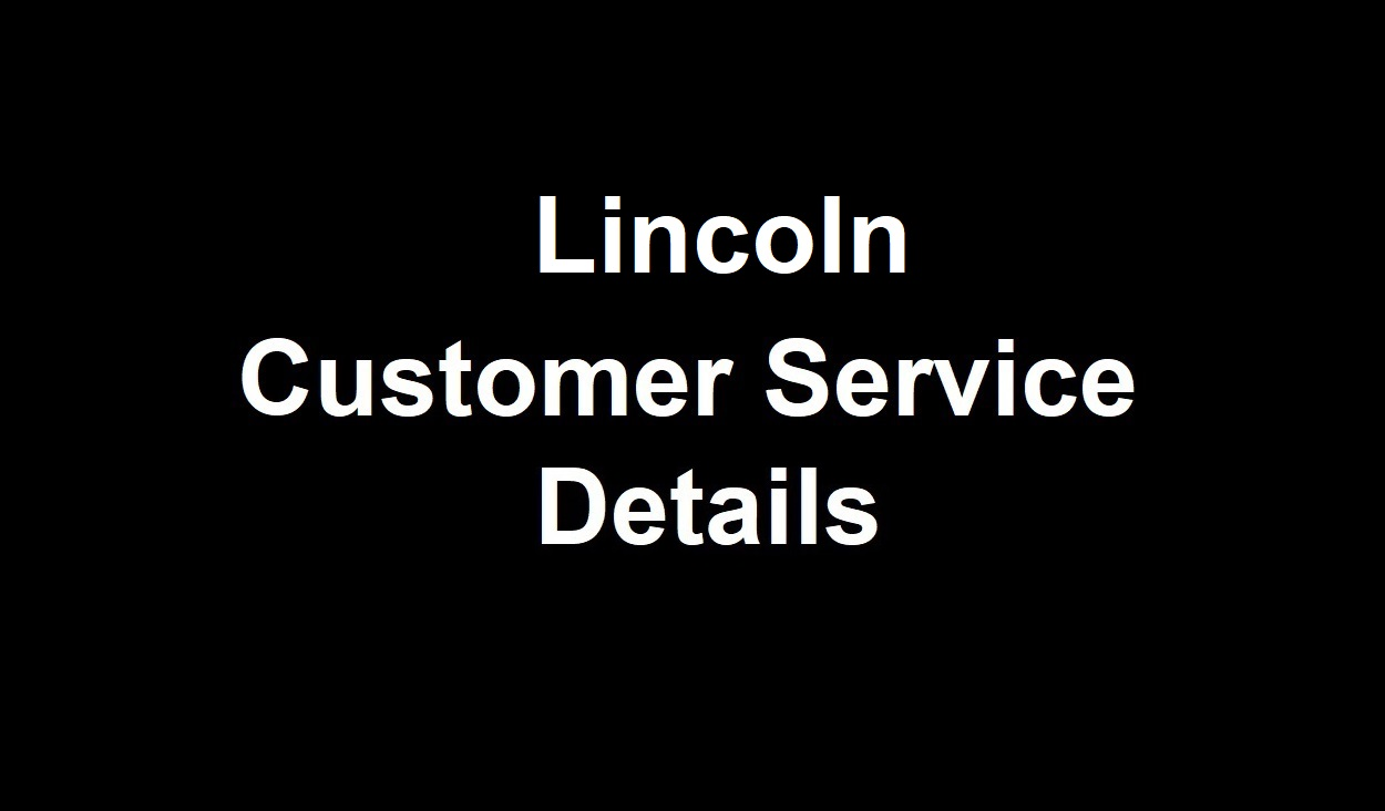Lincoln Customer Service Number