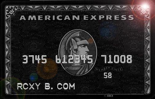 American Express Black Card Polyvore