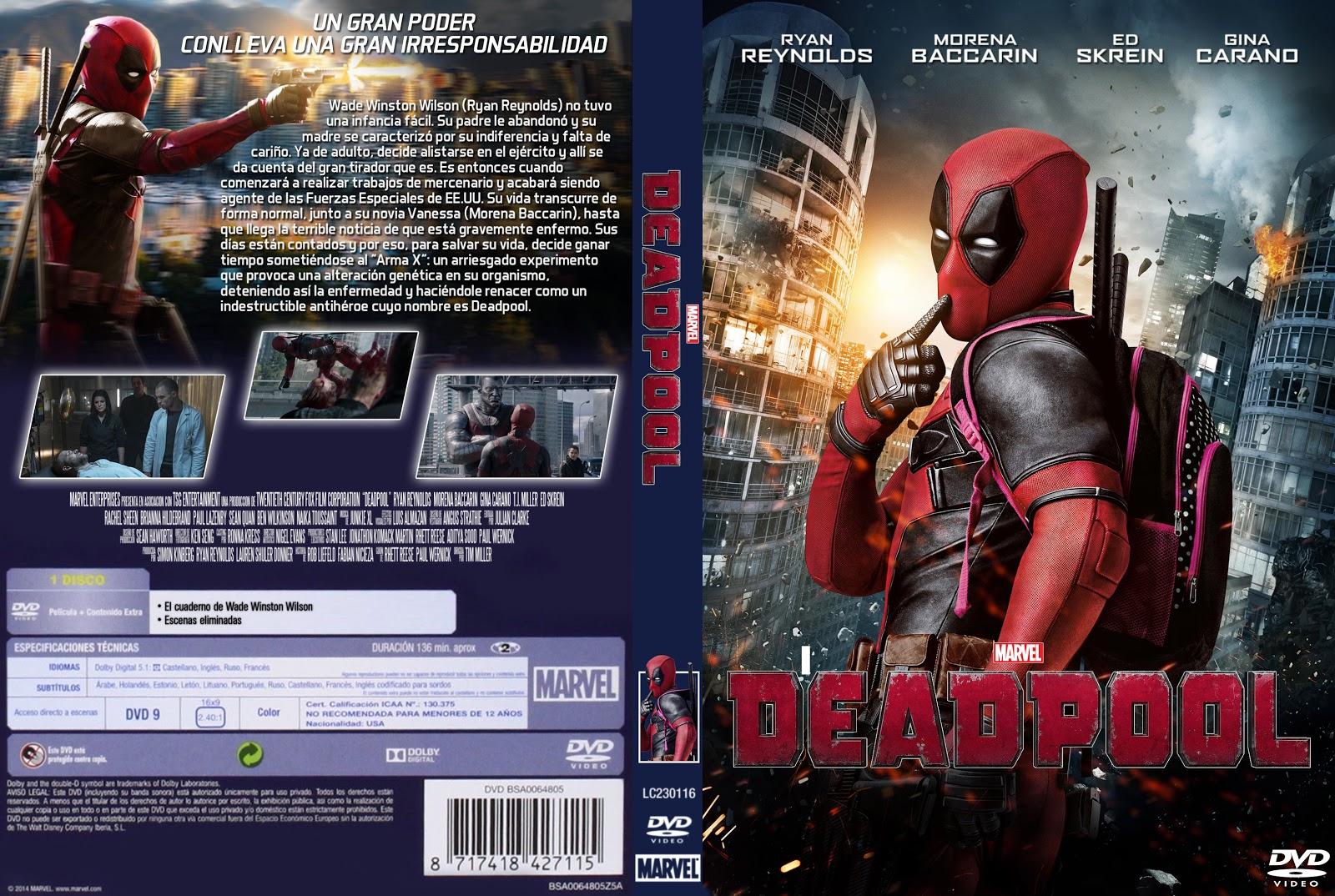 Deadpool 2 La Pelicula En Español Completa