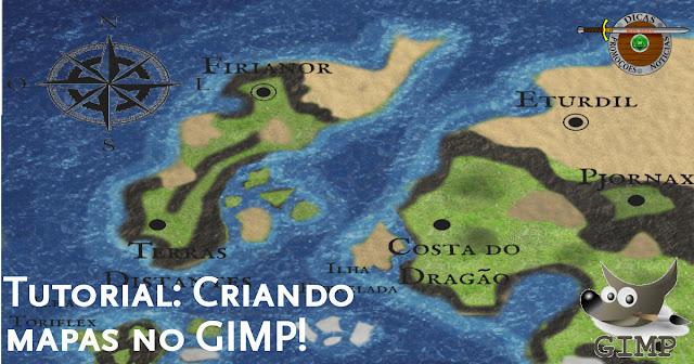 Criando Mapas no GIMP