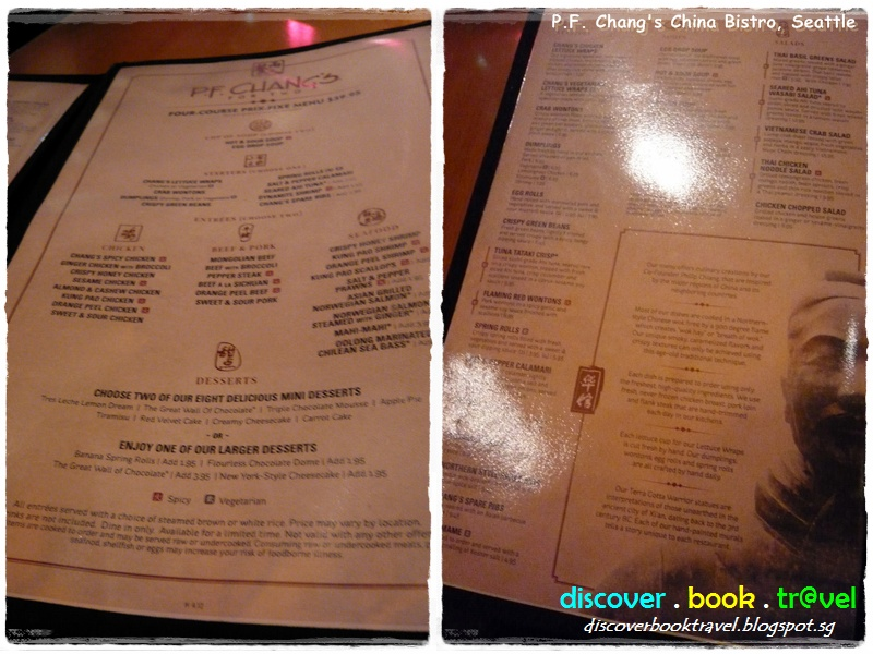 image about Pf Changs Printable Menu referred to as Cafe Overview: P.F. Changs China Bistro, Seattle