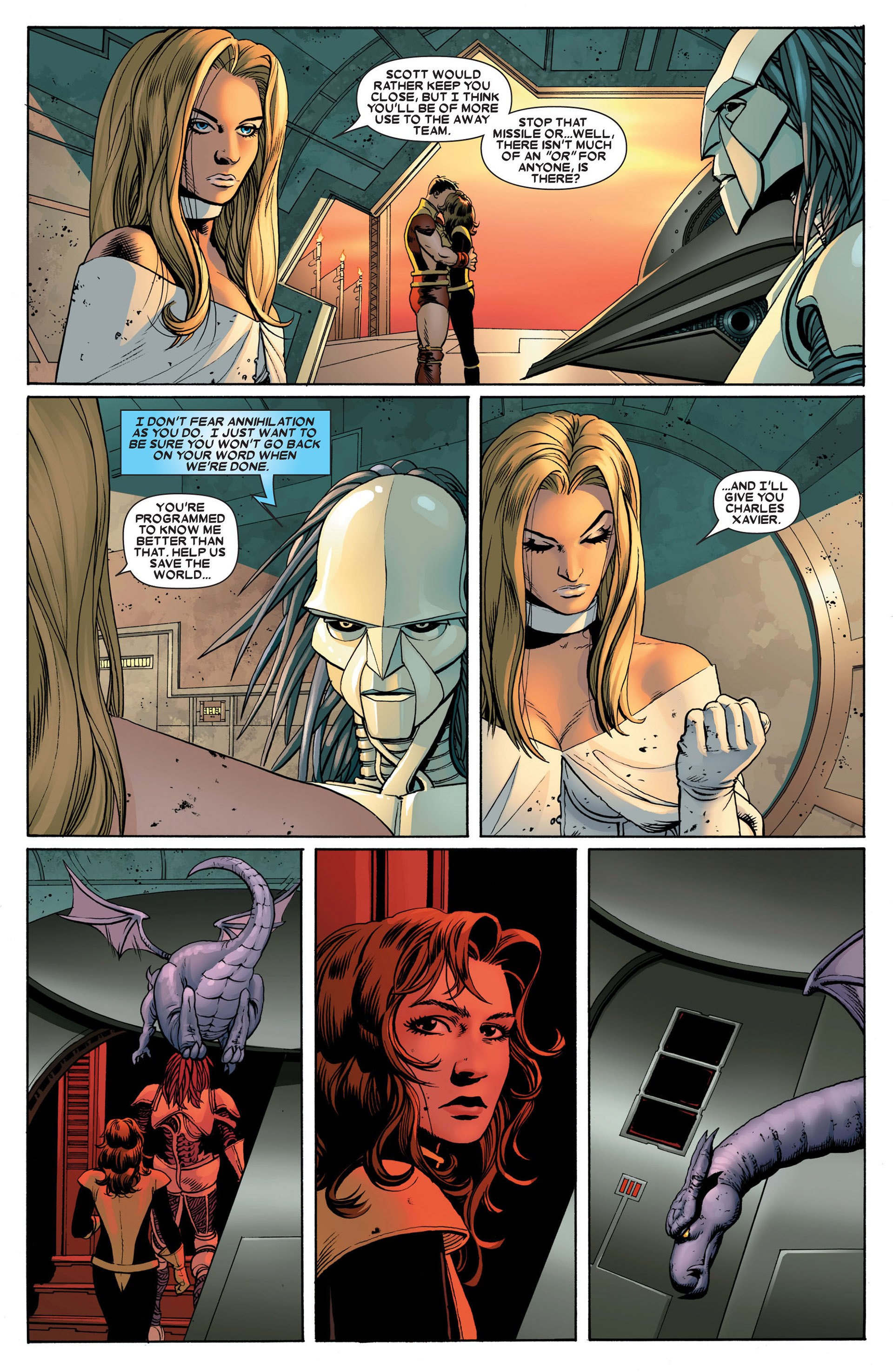 Read online Astonishing X-Men (2004) comic -  Issue #24 - 7