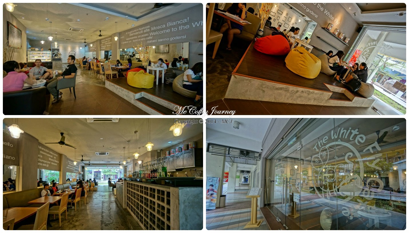 The White Fly Caffe @ Setia Walk, Puchong