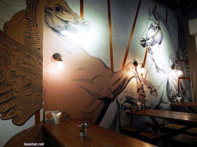 Interesting horse / mare decor