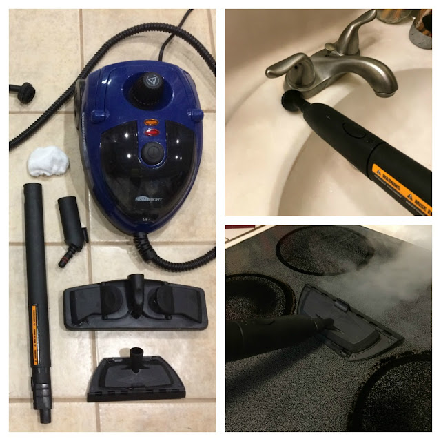 Deep clean your whole house with my Fall Cleaning Checklist and HomeRight's SteamMachine.