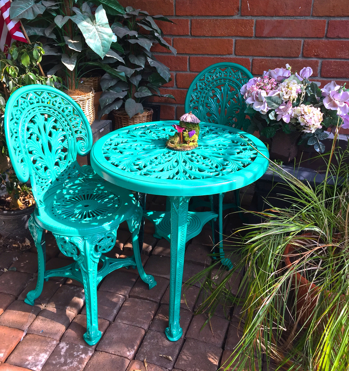 I Am So Happy With The Rust Oleum® Gloss Protectant Enamel Product In The  Rich Jade Color And How Great It Made My Furniture Look.