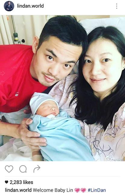 wajah anak lindan, kelahiran anak super dan, wajah anak super dan, anak lin dan dan xie xingfang, anak pertama lin dan, Lin dan atau Super Dan,