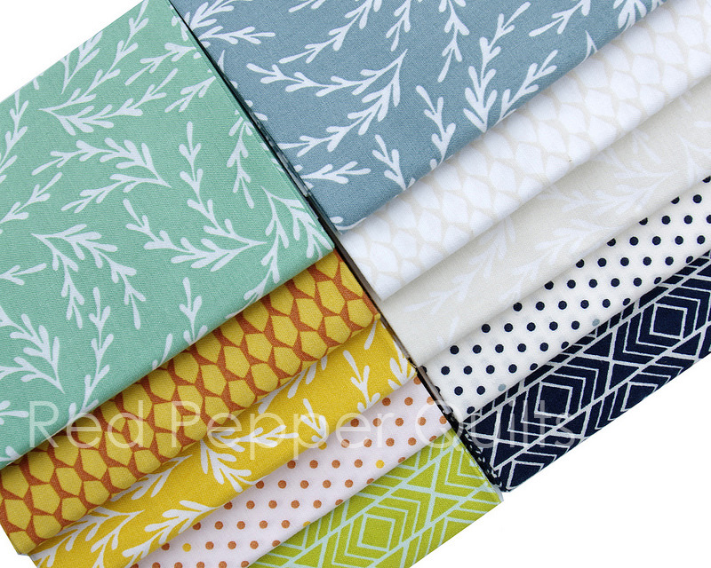 Pond by Elizabeth Hartman for Robert Kaufman Fabrics | © Red Pepper Quilts 2017
