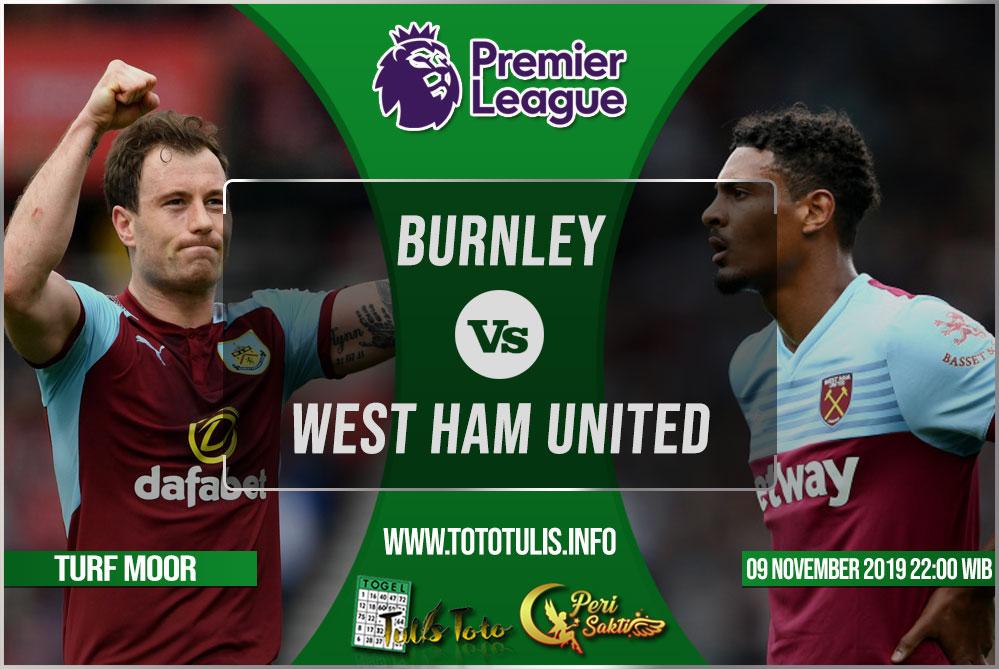 Prediksi Burnley vs West Ham United 09 November 2019