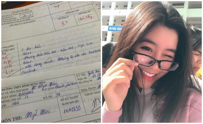 Nữ sinh TP.HCM nổi tiếng xinh đẹp chia sẻ bí quyết học giỏi Văn -2