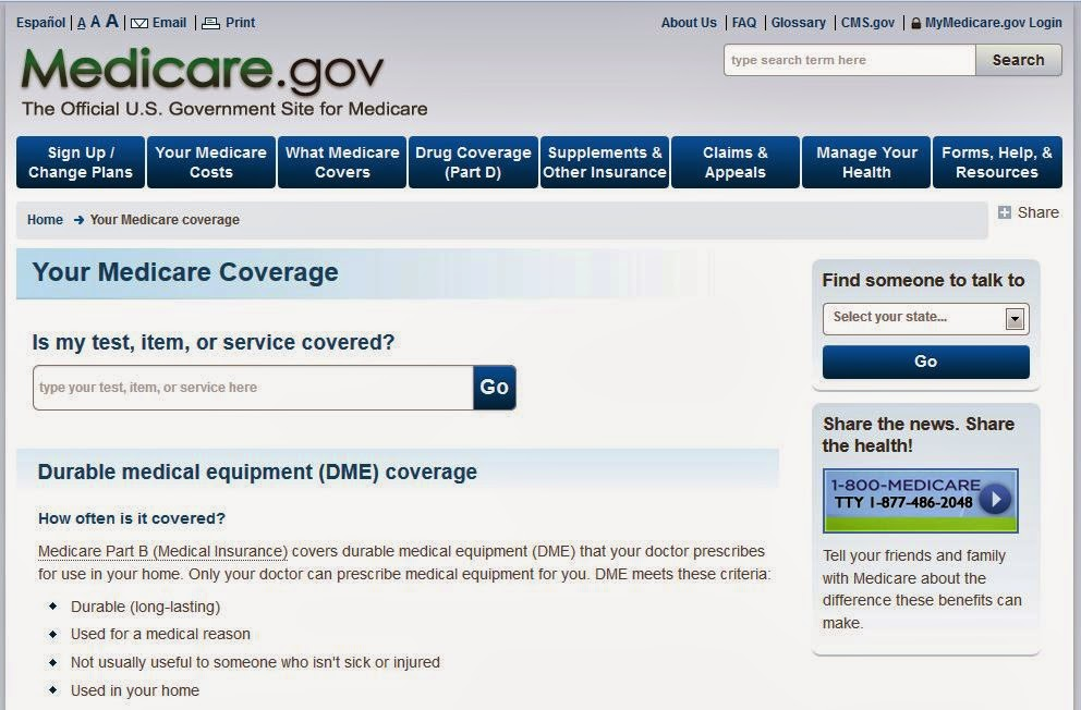 http://www.medicare.gov/coverage/durable-medical-equipment-coverage.html