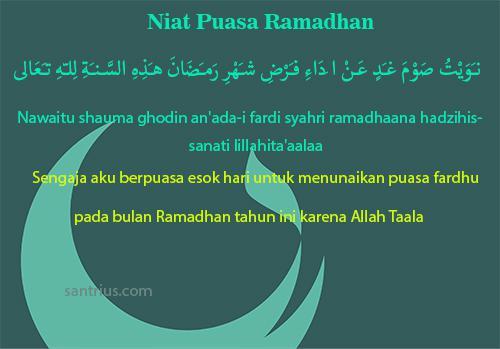Doa Niat Puasa Ramadhan Bacaan Buka Sebulan Yang Benar Lengkap