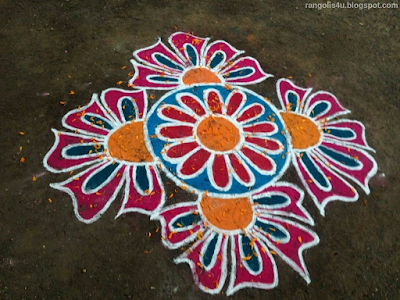 Colorful Rangolis