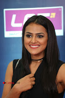 Actress Shraddha Srinath Stills in Black Short Dress at SIIMA Short Film Awards 2017 .COM 0076.JPG