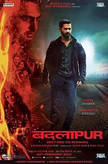 Badlapur (2015) Hindi Movie Poster