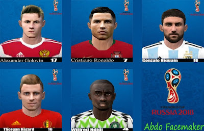 PES 6 Facepack World Cup v1 by Abdo