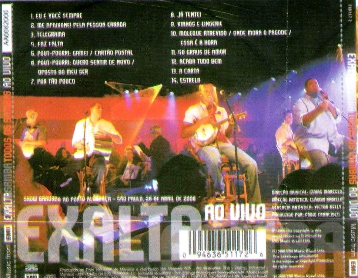 SAMBAS EXALTASAMBA AO DO CD VIVO GRATUITO DOWNLOAD TODOS OS