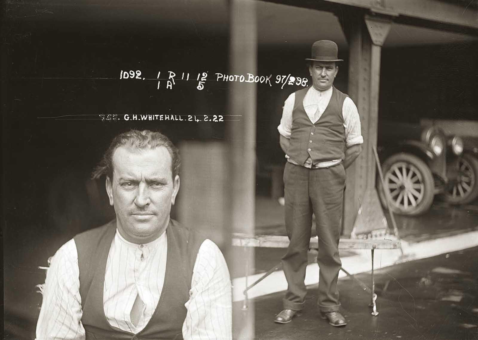 George Whitehall. 1922.