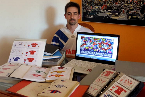 83ff744f76 A arte de desenhar camisas de futebol - Show de Camisas