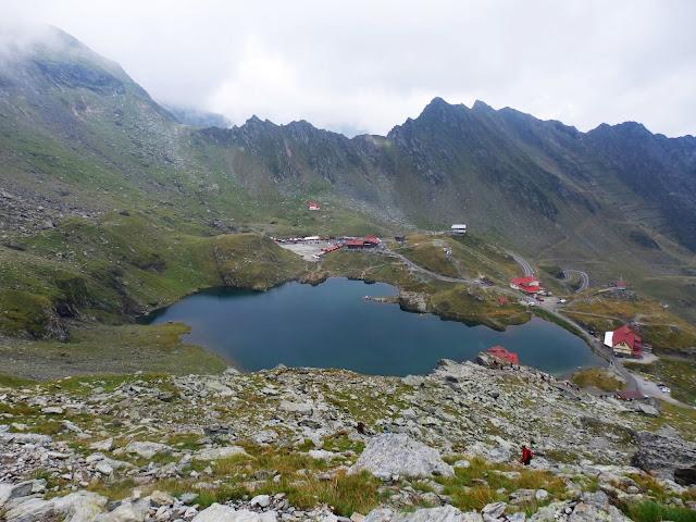 Rumuńskie Karpaty Południowe i jezioro Balea