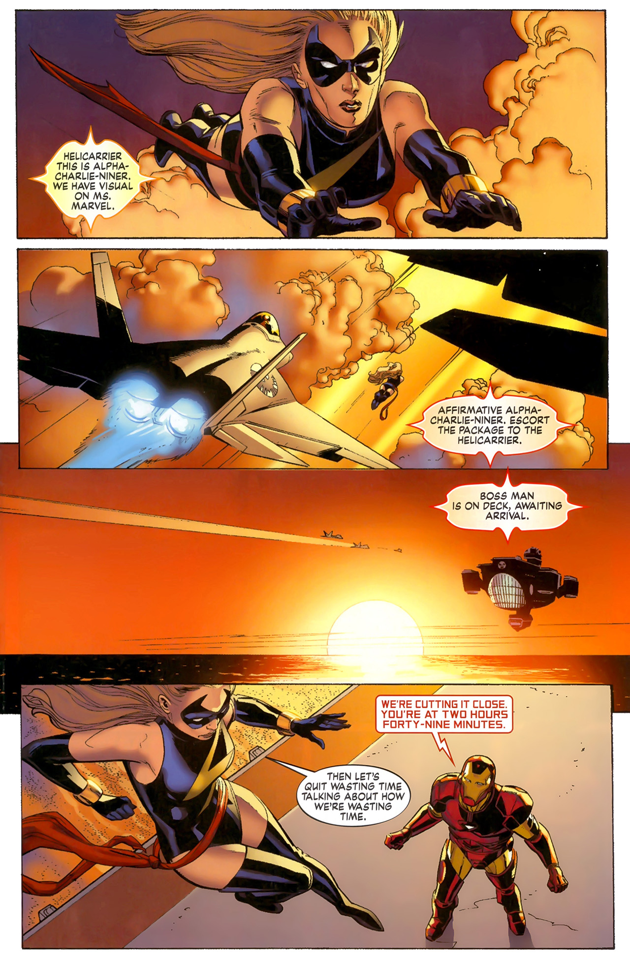 Read online Secret Invasion: The Infiltration comic -  Issue #6 - 2