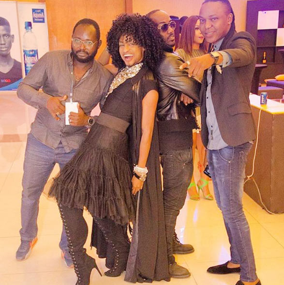 "Go to court and sue me, Denrele advices ""haters"" as he rocks skirt, wig"