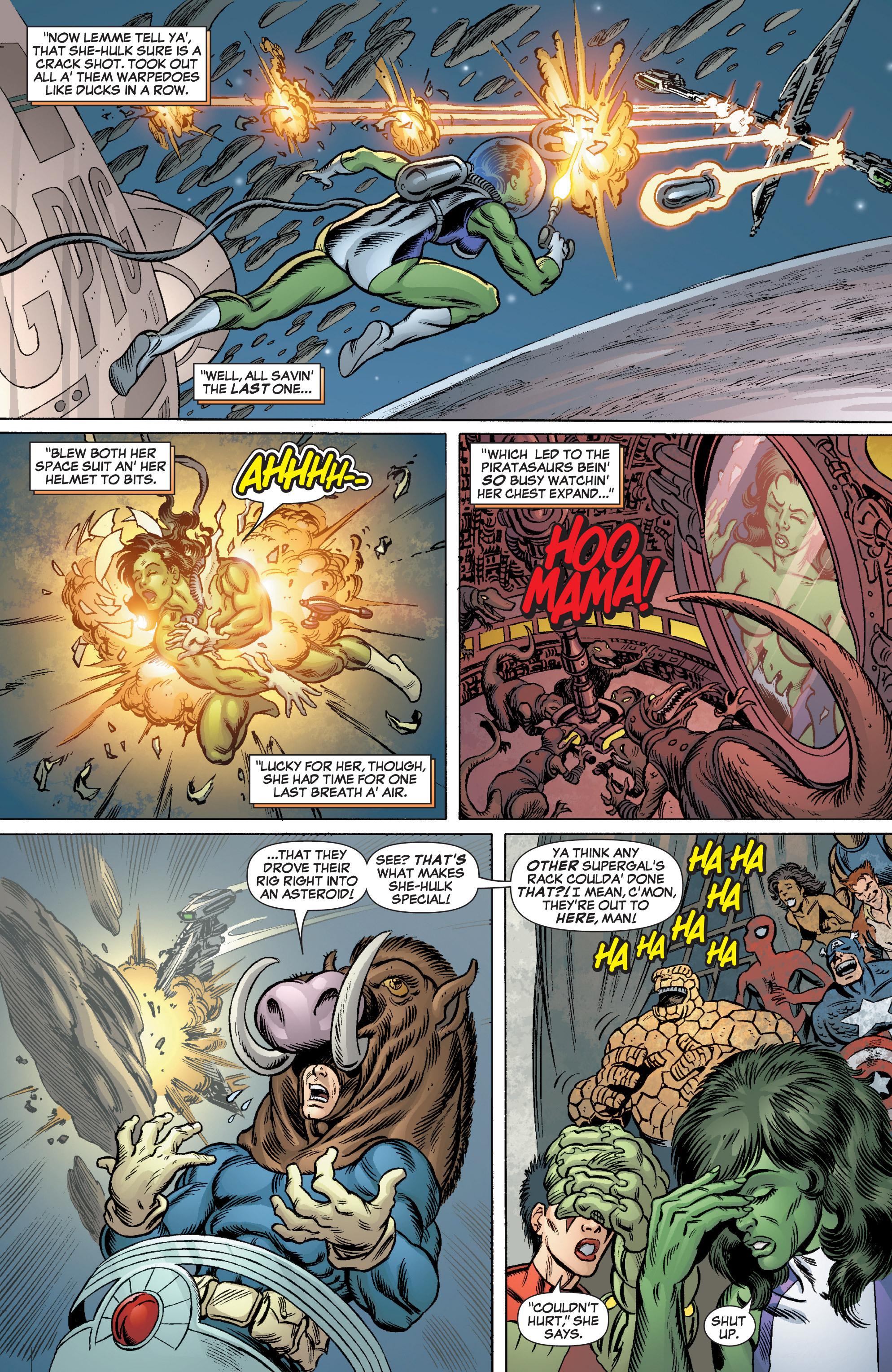 Read online She-Hulk (2005) comic -  Issue #3 - 22