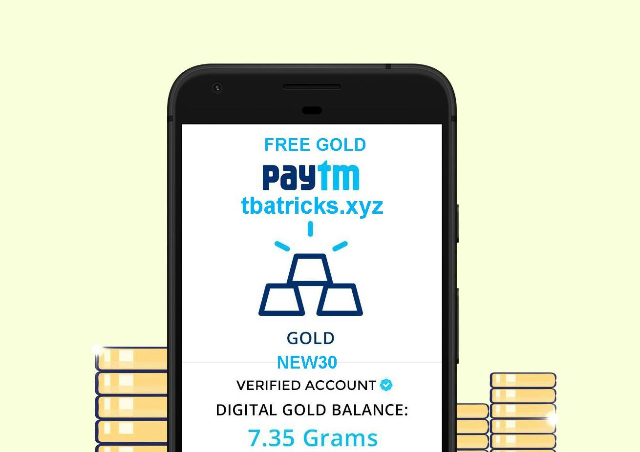 Paytm Free Gold Online Script