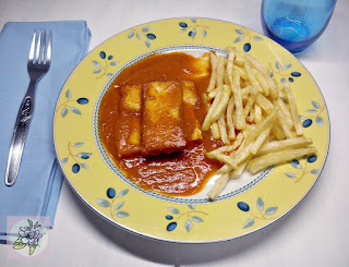 Tofu al Tomate.